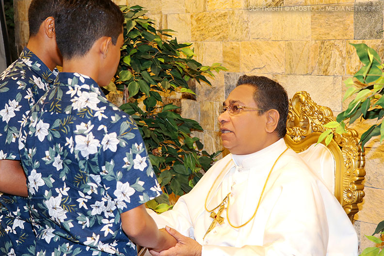 His Holiness the Apostle Rohan Lalith Aponso