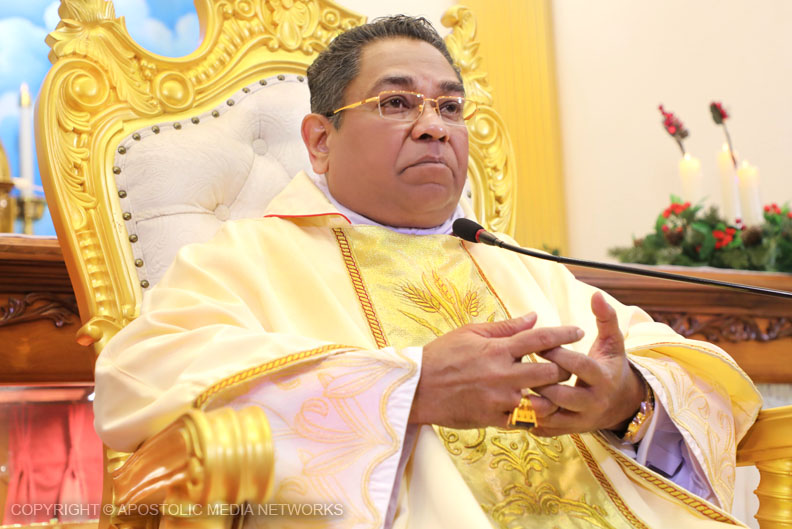 His Holiness the Holy Apostle Rohan Lalith Aponso