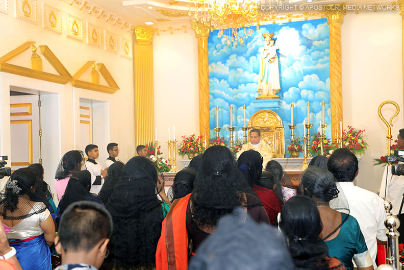 Apparition Church of Our Lady of Katunayake's Shrine
