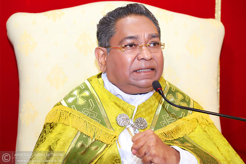 The meat eaten on Christmas Day is not eaten on Good Friday, if so, why the meat not eaten on Good Friday is eaten on Christmas Day? - His Holiness The Apostle Rohan Lalith Aponso says that the intelligent Christian people must think about it